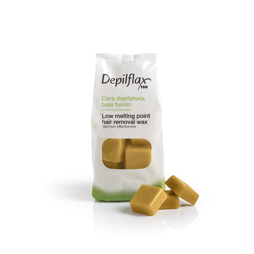 1 Kg. LOW MELTING POINT WAX GOLD 5AB DEPILFLAX 100