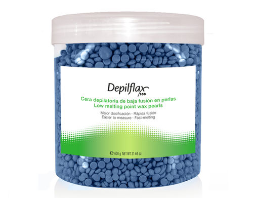 WAX IN PEARLS DEPILFLAX BLAU 2 AB